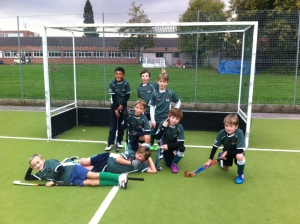 The winning team U10 Boys at Guildford
